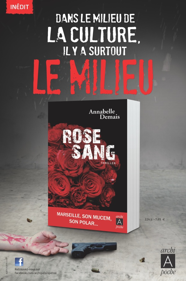 Aff. Rose sangACCEPTEE