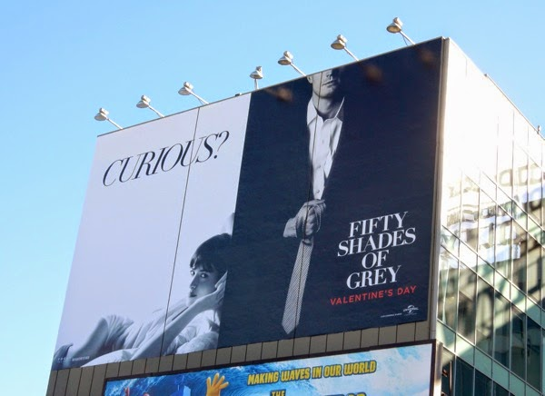 fifty shades of grey giant billboard