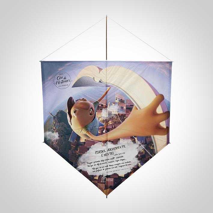 Projeto Céu de Histórias - Pipa Sylvia Orthof |BX|