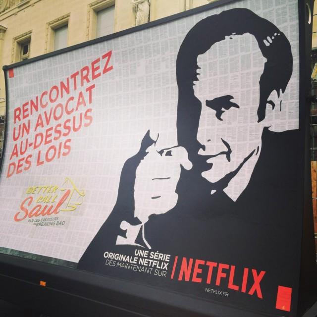 Affiche Better Call Saul  Paris