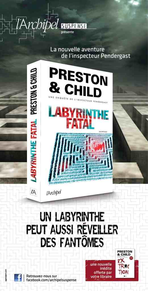 Affiche 20x40 Labyrinthe-Extraction