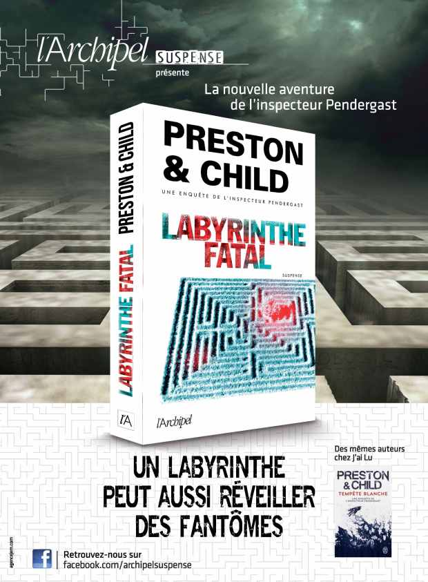 AP Labyrinthe Fatal Preston & Child