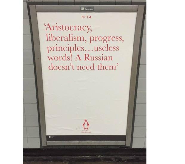 Tourgueniev affiche Pocket Penguins